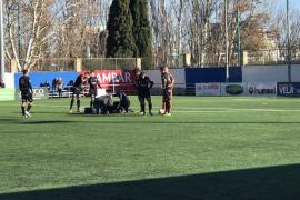 El Atlético Baleares naufraga ante el Ebro