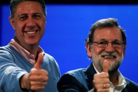 Rajoy pide el voto porque «nada se podrá construir» en Cataluña sin el PP