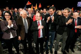 Sánchez apela a la «mano izquierda de Iceta» para que vuelva la convivencia