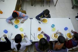 Diez mil alumnos en los comedores escolares públicos