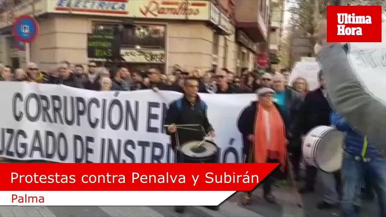 Más de 100 personas piden de nuevo la inhabilitación de Penalva y Subirán