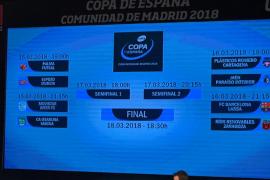 El Palma Futsal se vuelve a topar con ElPozo Murcia en la Copa de España
