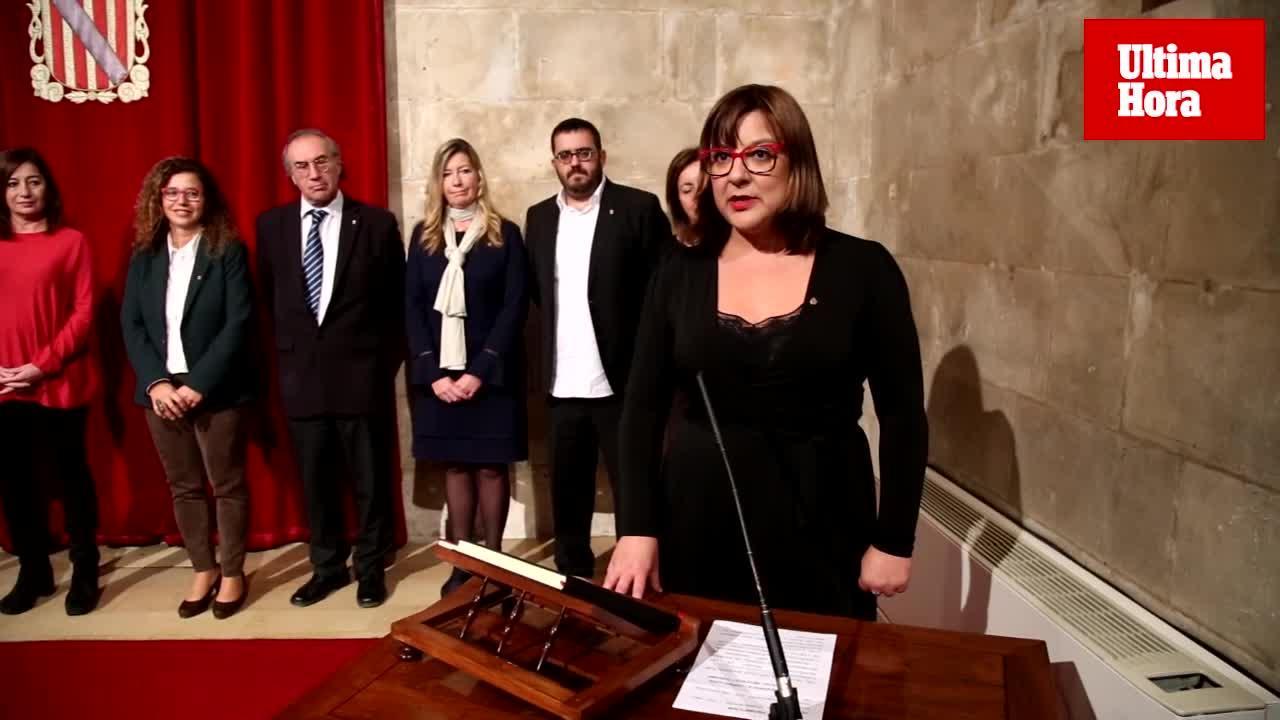 Bel Busquets jura el cargo y releva a Biel Barceló en la vicepresidencia del Govern