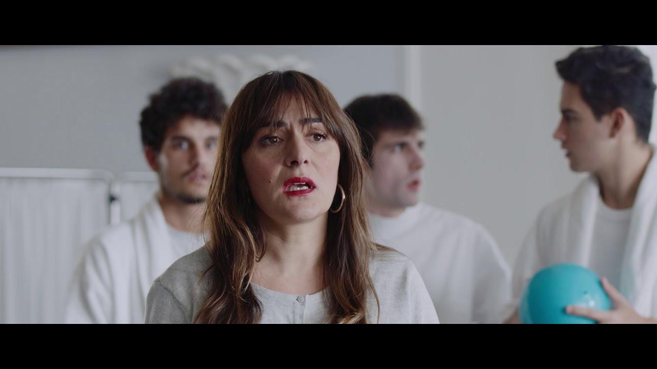 Carmen Maura, Joan Manuel Serrat, Baltasar Garzón e Irene Villa, en la campaña de Navidad 'Amodio' de Campofrío