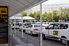 El Govern impone 48 sanciones por intrusismo en el transporte al aeropuerto de Palma