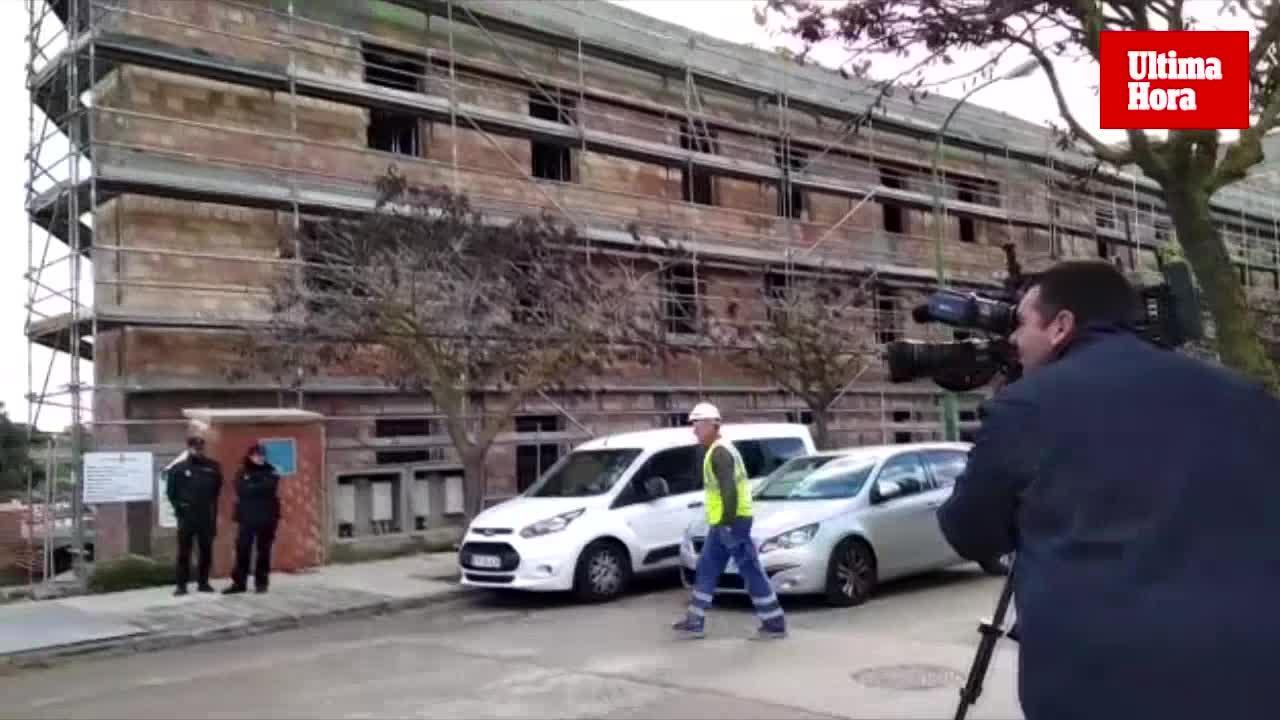 Fallece un trabajador al caer de una altura de 4 metros en Palma