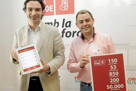 El PSOE presenta a Matas en un vídeo electoral como «espejo donde se mira Rajoy»