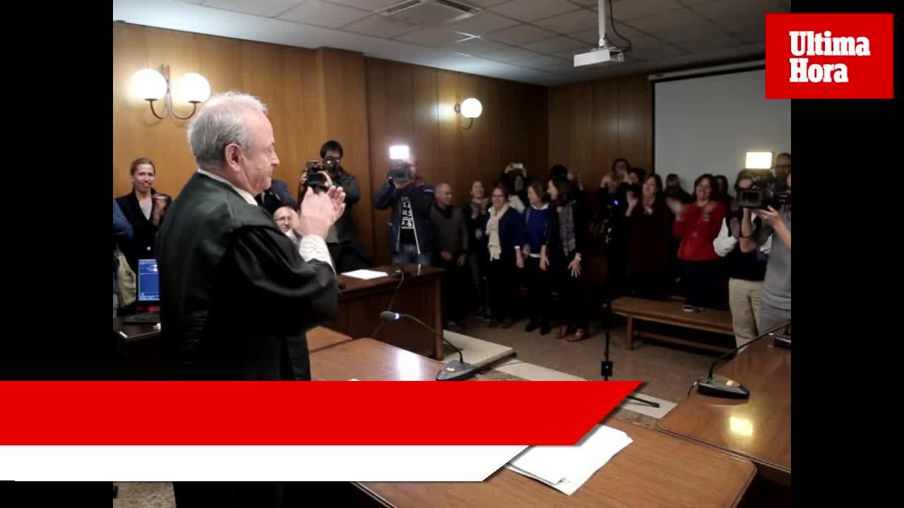 José Castro: «Espero no quedar como el juez que imputó a la Infanta»