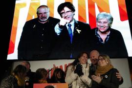 Junts per Catalunya mitin cierre campaña