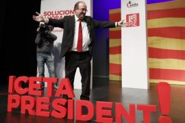 Iceta reivindica que el PSC quiere la reconciliación y Cs «la revancha»
