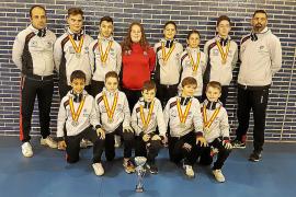 Baleares marca la pauta en los nacionales de taekwondo
