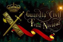 La Guardia Civil felicita la Navidad con un vídeo