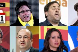 Siga en directo las elecciones catalanas