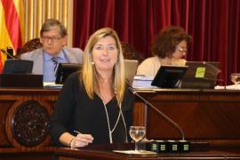 Patricia Gómez remarca que «siete de cada diez euros» se destinan a políticas sociales