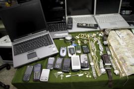 La banda desarticulada blanqueaba los efectos robados en Mallorca en una joyería