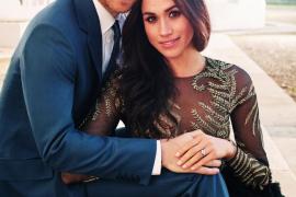 El príncipe Enrique y Meghan Markle hacen públicas sus fotos de compromiso