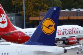 Bruselas aprueba con condiciones la compra de parte de Air Berlin por Lufthansa