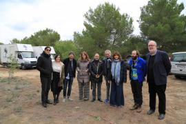 Juliette Binoche rueda una comedia en Mallorca