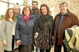 Pollença rinde homenaje a Clara Hammerl con un busto