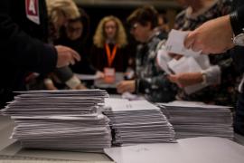 El escrutinio de las elecciones catalanas, más lento de lo habitual