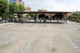 La antigua estación de autobuses es ahora un párking desaprovechado