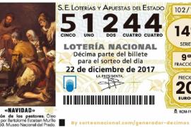 El Sorteo de la Lotería de Navidad sonríe a Baleares