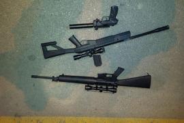 Detenido por amenazar con una pistola de aire comprimido a 5 chicos en Calvià