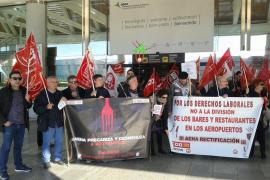 UGT denuncia que se impida el paso al comité de la huelga contra Aena en el aeropuerto de Palma
