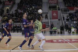 El Palma Futsal despide el año con un empate con el FC Barcelona en Son Moix