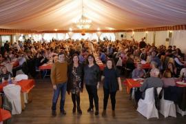 Armengol, en la cena de Navidad del PSIB: «Queremos gobernar ocho años para seguir transformando la realidad social»