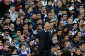 Zidane: «Sé que me van a meter hostias, pero asumo mi decisión»