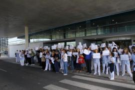 Barceló pide un «esfuerzo» para evitar la huelga de las trabajadoras de la limpieza de Son Espases