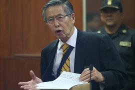El expresidente peruano Alberto Fujimori es trasladado de urgencia a una clínica por taquicardia