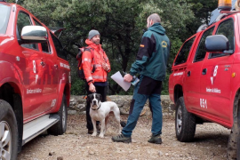 El Grupo Especial de Rescate de la Guardia Civil participa este domingo en la búsqueda del ermitaño de Valldemossa