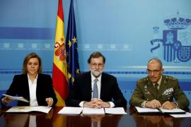 Mariano Rajoy agradece a los militares en el exterior su trabajo