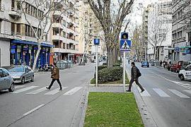 Cort instalará en las calles de Palma un nuevo pavimento que absorbe el agua
