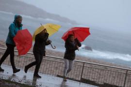 'Bruno' pone en alerta a Baleares por fuertes vientos