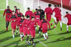 El Mallorca vuelve al trabajo