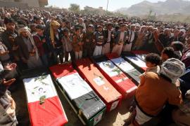 Un bombardeo de la coalición deja 23 muertos en un mercado en Yemen
