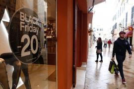 «Black Friday» y «Cyber Monday» estimulan las ventas del comercio minorista de Baleares en noviembre