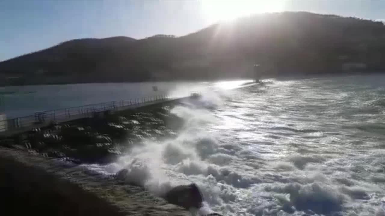 'Bruno' deja rachas de viento de hasta 100 kilómetros por hora en Mallorca