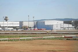 El aeropuerto de Son Sant Joan tendrá el único hangar de España para pintar aviones