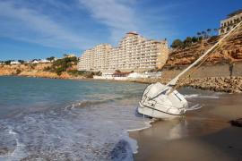 El fuerte viento provoca 190 incidentes en Baleares en las últimas 24 horas