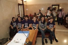 Las feministas que irrumpieron en Sant Miquel denuncian «connivencia» entre Justicia, Estado e Iglesia