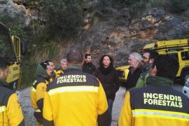 La explosión de un transformador podría ser la causa del incendio en Pollença