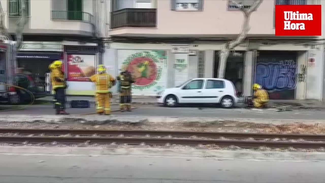Cinco atendidos por un incendio en un piso de la calle Eusebio Estada