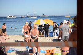 Descienden los incidentes graves en las playas y las muertes de bañistas en Baleares