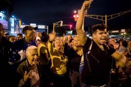 Protestas en Venezuela por la escasez de alimentos, gas y agua