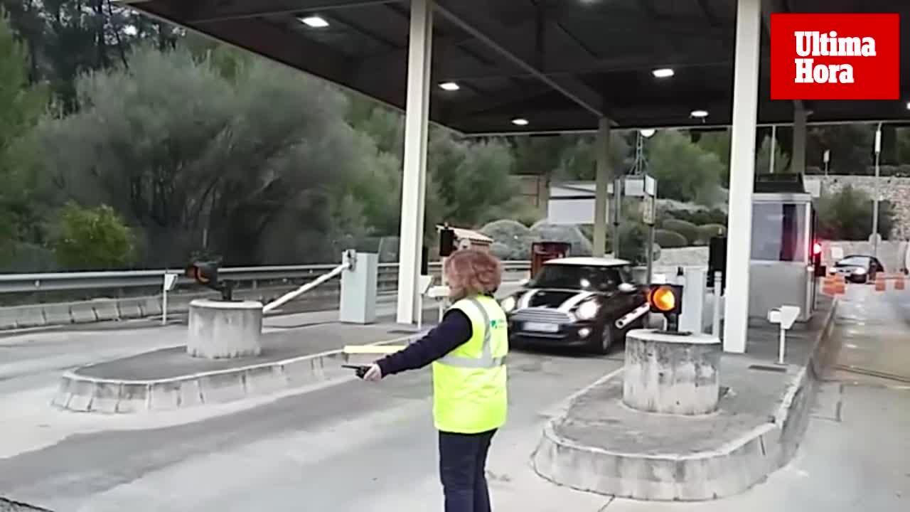 El túnel de Sóller abre las barreras y ya no cobra peaje