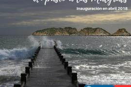 Calvià construye un paseo para unir la costa con las islas Malgrats